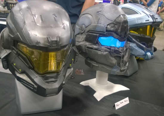 Halo helmets