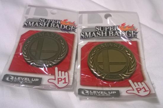 Smash badges
